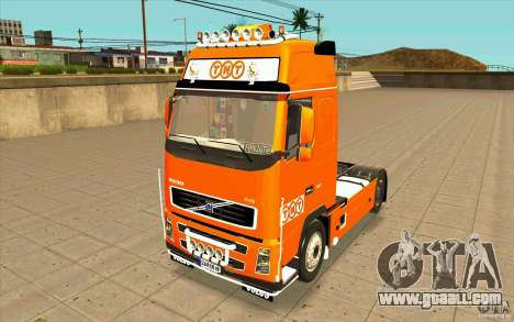 Volvo FH16 Globetrotter TNT for GTA San Andreas