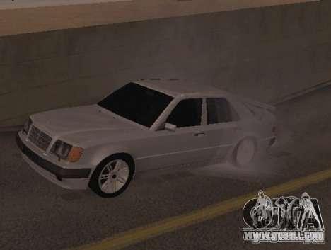 Mercedes-Benz E500 Taxi 1 for GTA San Andreas left view