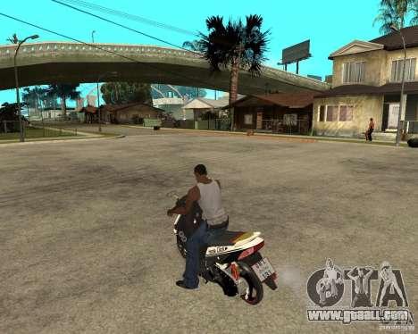 Honda Click for GTA San Andreas left view