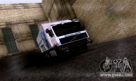 Volvo F10 for GTA San Andreas side view