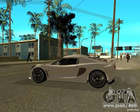 Lotus Exige for GTA San Andreas left view