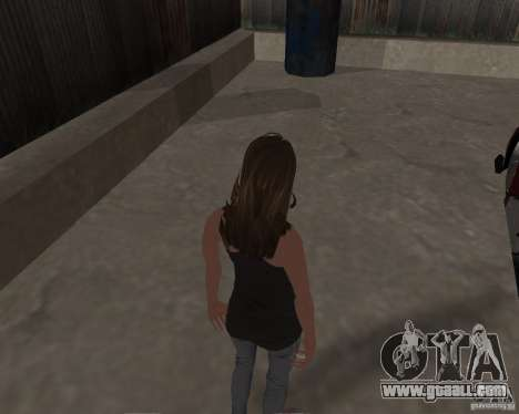 Tony Hawks Emily for GTA San Andreas fifth screenshot