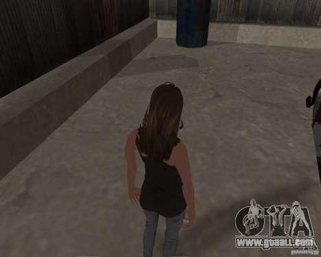 Tony Hawks Emily for GTA San Andreas fifth screenshot