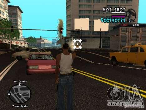 HUD by Hot Shot v.2.2 for SAMP for GTA San Andreas third screenshot