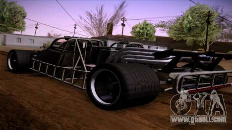 Flip out Car from Furious 6 for GTA San Andreas