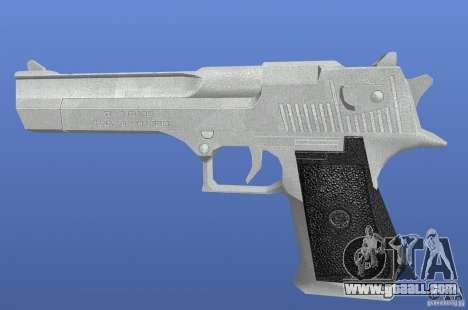 Silver Deagle for GTA 4