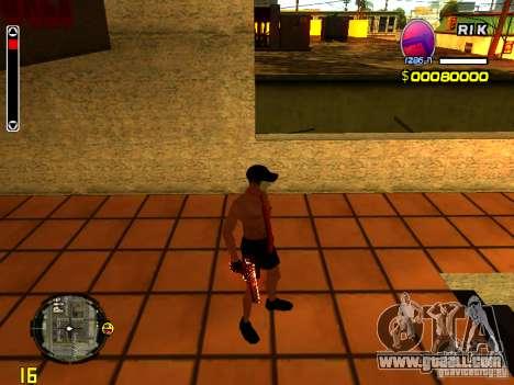 Skin Beach man for GTA San Andreas forth screenshot