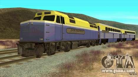 Latvian Train for GTA San Andreas