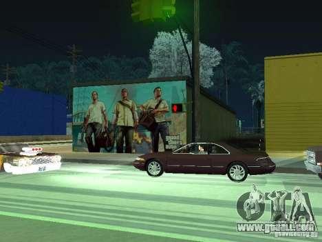 Poster Of GTA V for GTA San Andreas forth screenshot