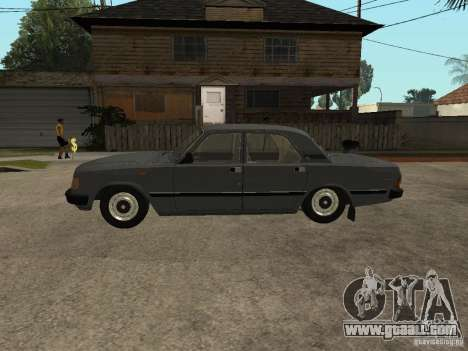 GAZ 31029 for GTA San Andreas back left view