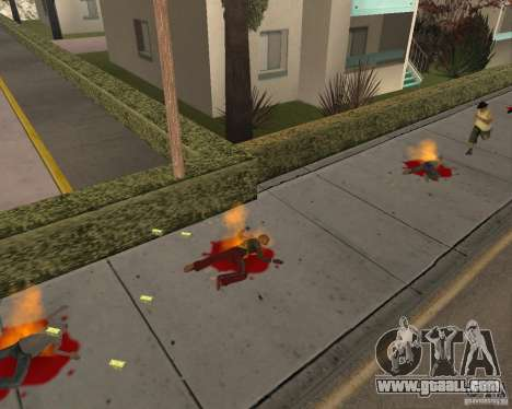 Incendiary ammo for GTA San Andreas second screenshot