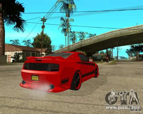 Ford Mustang Red Mist Mobile for GTA San Andreas back left view