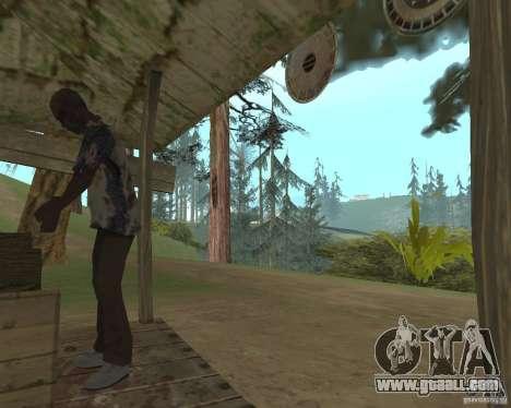 On a visit to Grandma for GTA San Andreas third screenshot