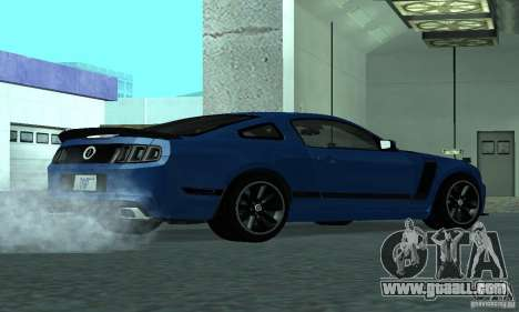 Ford Mustang Boss 302 2013 for GTA San Andreas right view