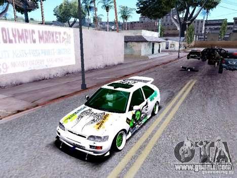 Ford Escort RS 92 Hella for GTA San Andreas back view