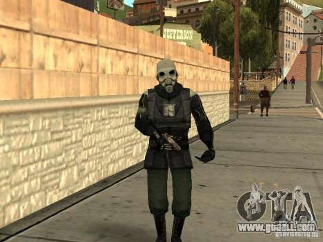 Cops from Half-life 2 for GTA San Andreas
