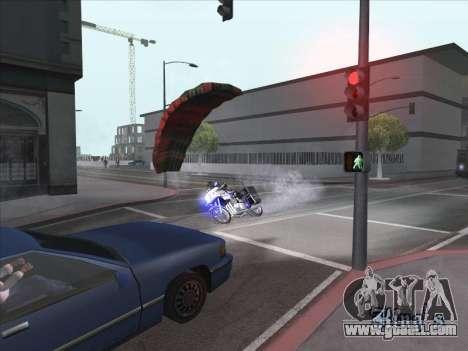 Parachute for bajka for GTA San Andreas second screenshot