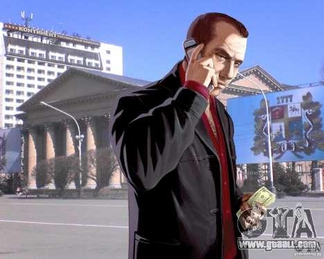 Loading screens City Stavropol for GTA 4