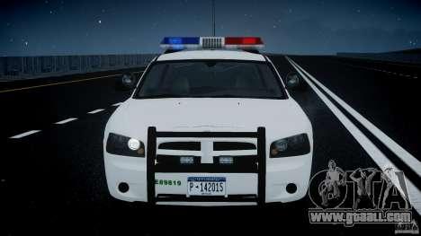 Dodge Charger US Border Patrol CHGR-V2.1M [ELS] for GTA 4 bottom view
