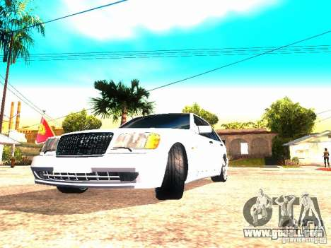 Mercedes-Benz S600 AMG for GTA San Andreas right view
