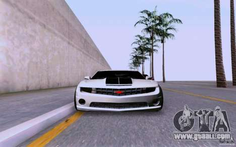 Chevrolet Camaro Super Sport 2012 for GTA San Andreas back left view
