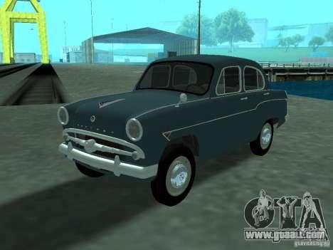 Moskvich 407 for GTA San Andreas