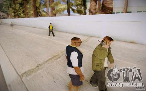 People talking on the phone for GTA San Andreas
