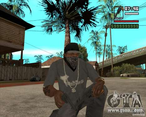 Call of Juarez Bound in Blood Weapon Pack for GTA San Andreas second screenshot