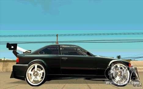 NFS:MW Wheel Pack for GTA San Andreas eighth screenshot