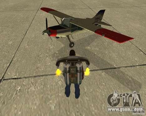 Pak air transport for GTA San Andreas inner view