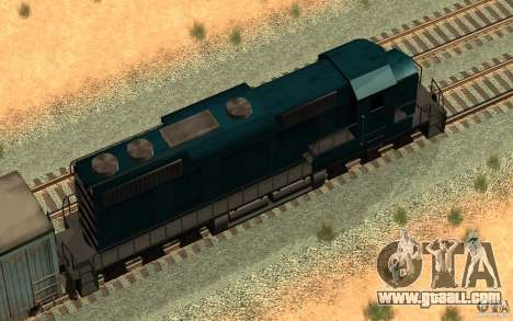 San Andreas Beta Train Mod for GTA San Andreas right view