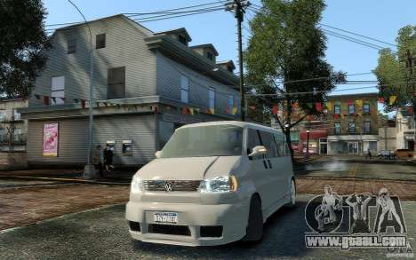 Volkswagen Transporter T4 for GTA 4