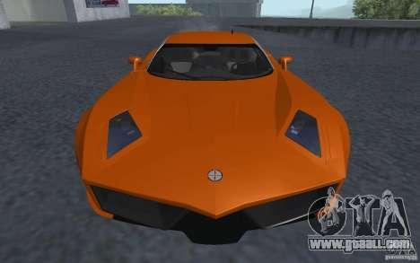 Spada Codatronca TS Concept 2008 for GTA San Andreas back left view
