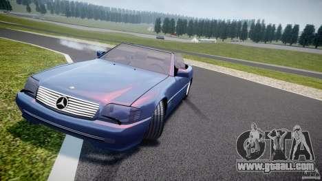 Mercedes-Benz SL500 for GTA 4