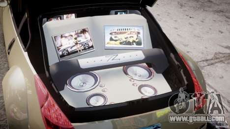 Nissan 350Z Veilside Tuning for GTA 4 upper view