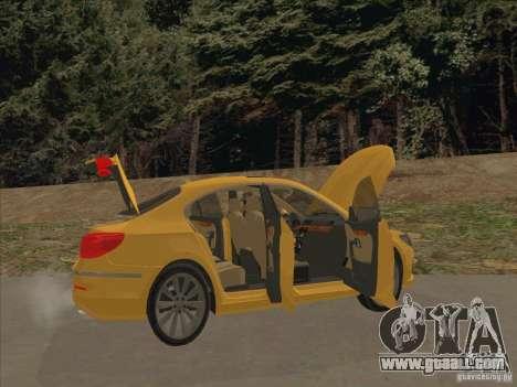 Volkswagen Passat CC for GTA San Andreas interior
