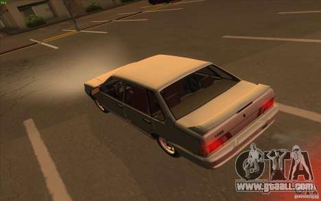 VAZ 2115 Stock v1.0 for GTA San Andreas right view