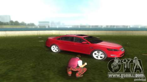 Ford Taurus for GTA Vice City right view
