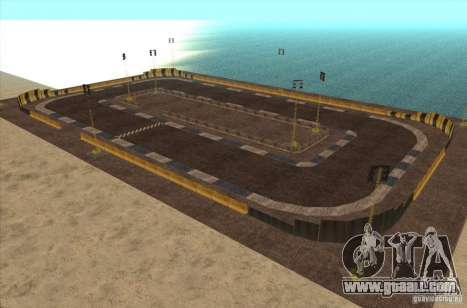 New track for drifting for GTA San Andreas