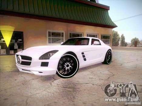 Mercedes-Benz SLS AMG 2010 Hamann Design for GTA San Andreas