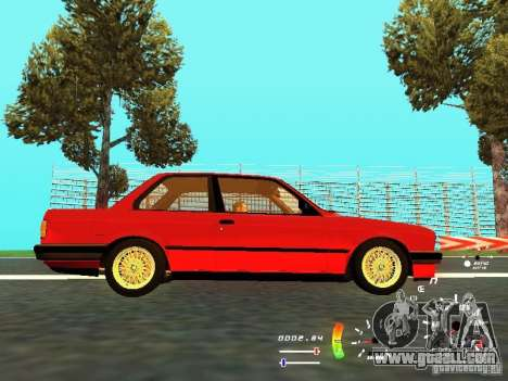 BMW E30 87-91 for GTA San Andreas back view