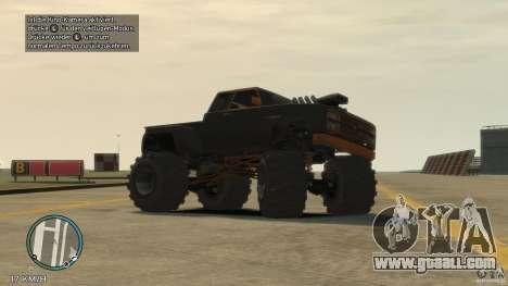 Bobcat megatruck 1.0 for GTA 4 left view
