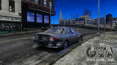 Nissan Laurel GC35 for GTA 4 inner view