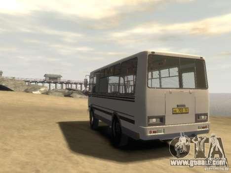PAZ 3205 v1.1 for GTA 4 back left view