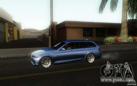 BMW F11 530d Touring for GTA San Andreas left view