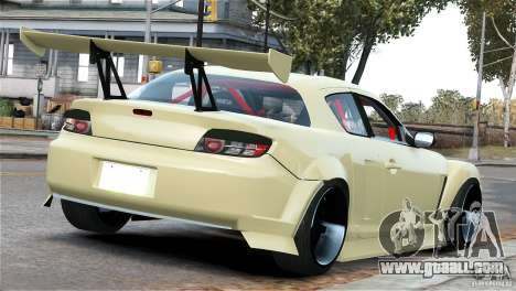 Mazda RX-8 Mad Mike for GTA 4 right view
