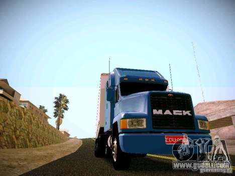 Mack ch 613 for GTA San Andreas back left view