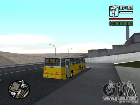 Ciferal GLS Volvo B10M for GTA San Andreas right view