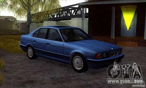 BMW 525 (E34) V.2 for GTA San Andreas