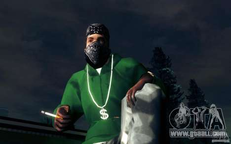 Realistic cigarette for GTA San Andreas fifth screenshot